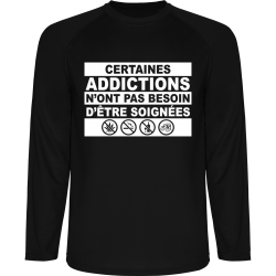 "T-Shirt Technique ML ""Addictions"""
