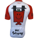 Maillot de Cyclisme Mr Strong (M. Costaud)